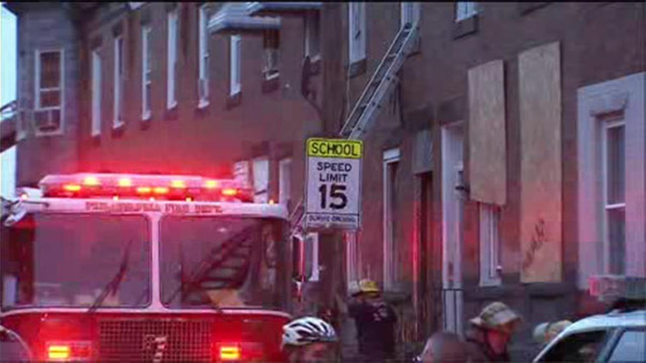 House fire in West Kensington