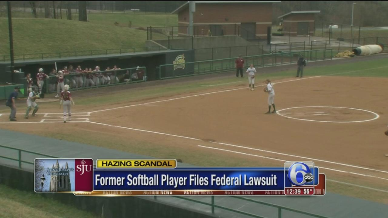 VIDEO: Suit alleges hazing on St. Joes softball team