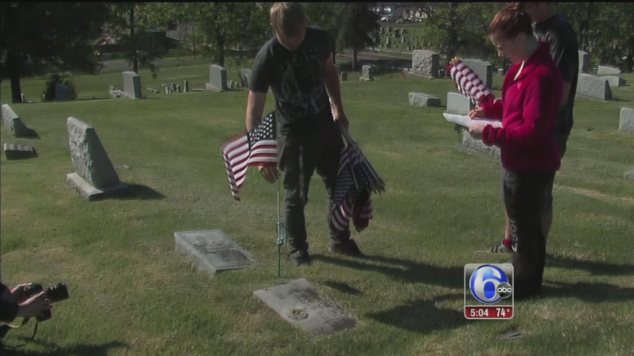 VIDEO: Pennridge high school flags