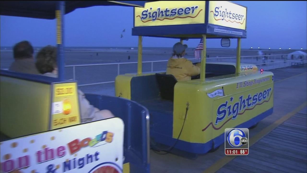 VIDEO: Shore-goers start the holiday weekend