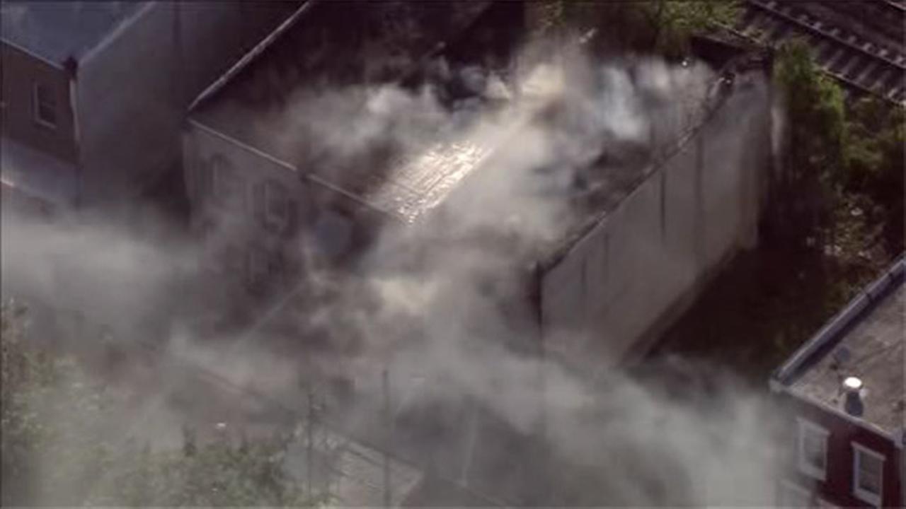 House fire in North Philadelphia
