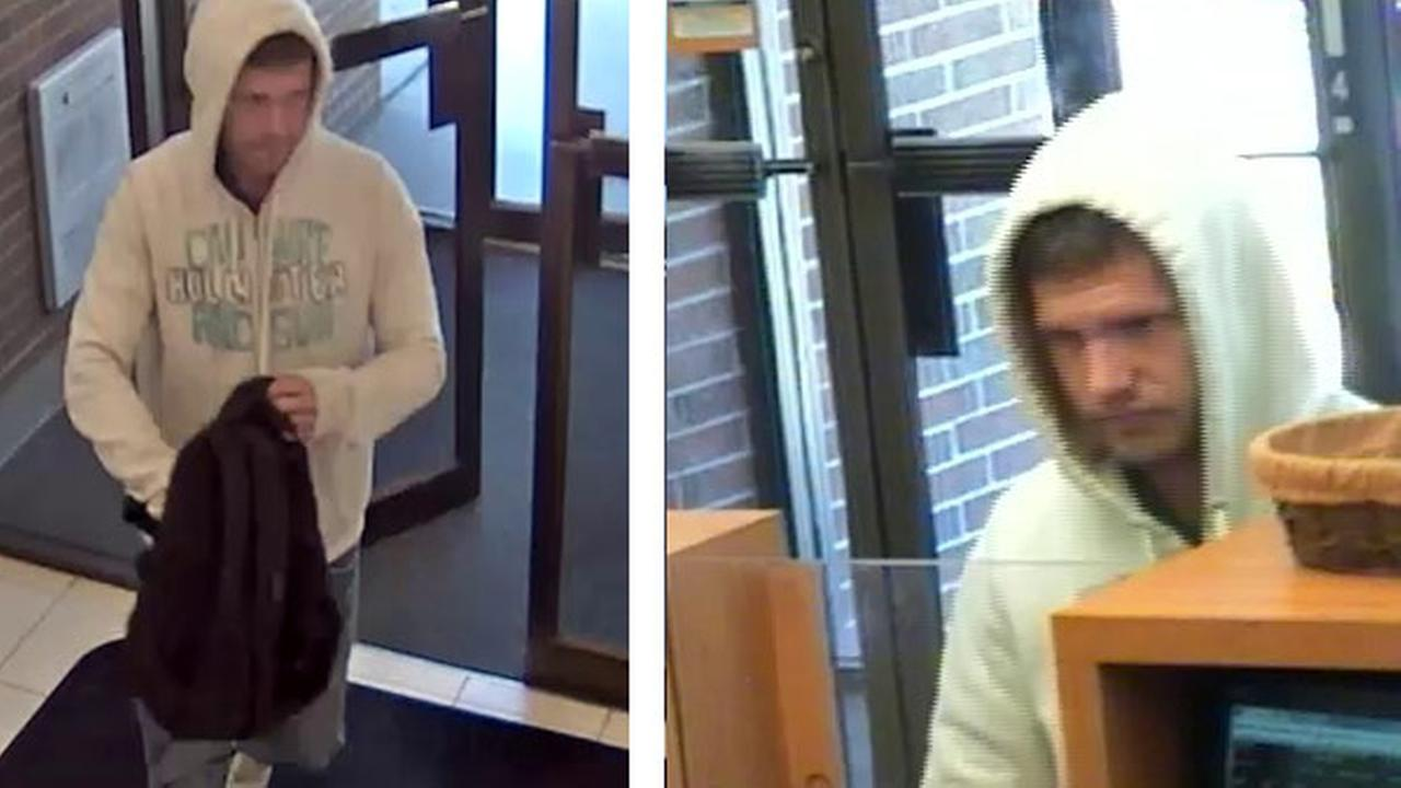 Man sought in PNC Bank robbery in Gloucester Twp.