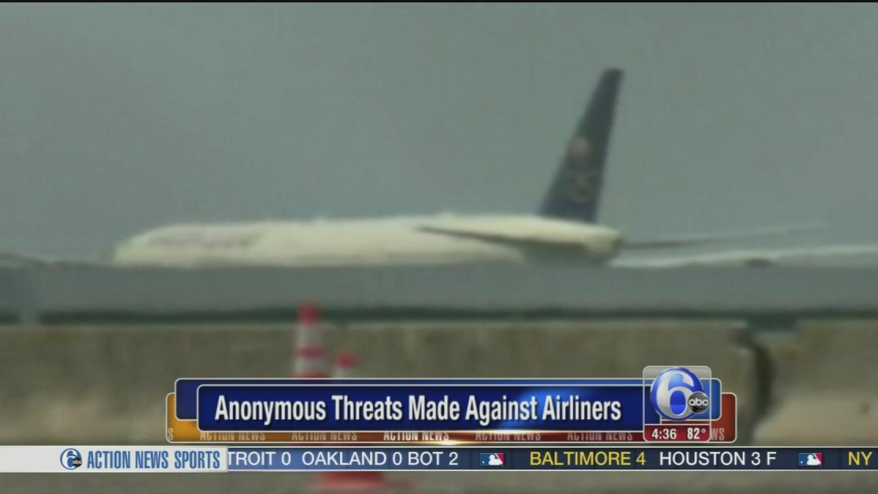 VIDEO: Threats made against airliners