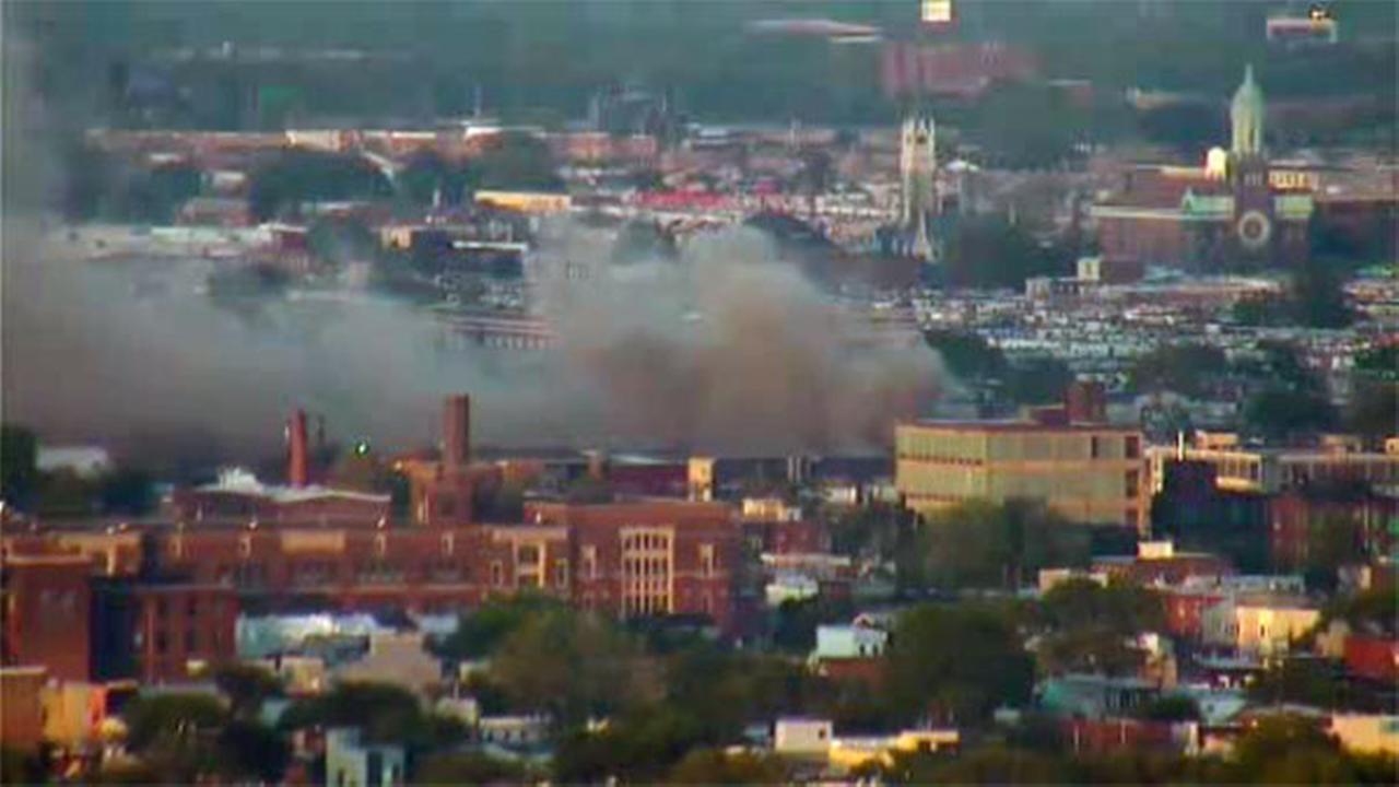 Port Richmond scrap yard fire under control