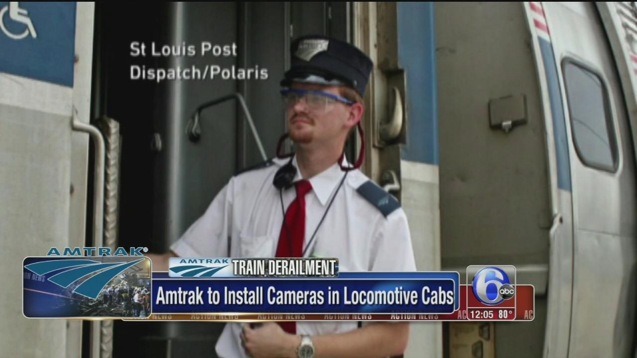 VIDEO: Amtrak to install locomotive cameras