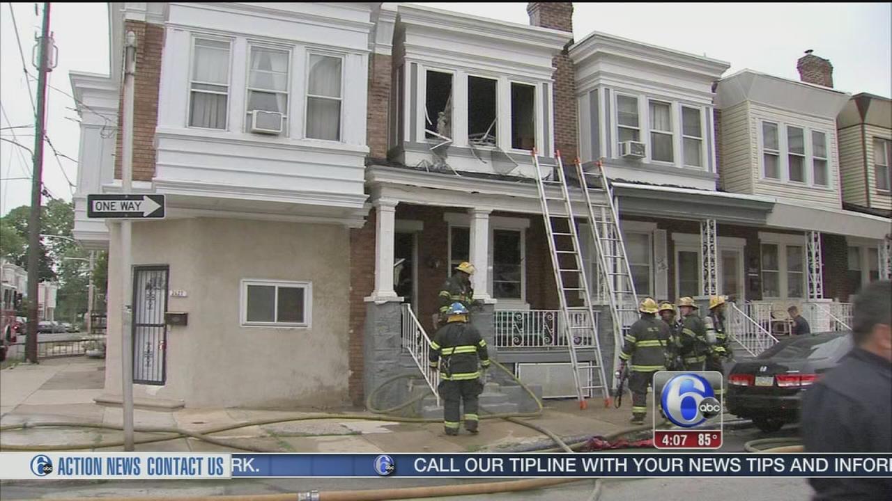 VIDEO: Woman, 92, dies in house fire in Brewerytown