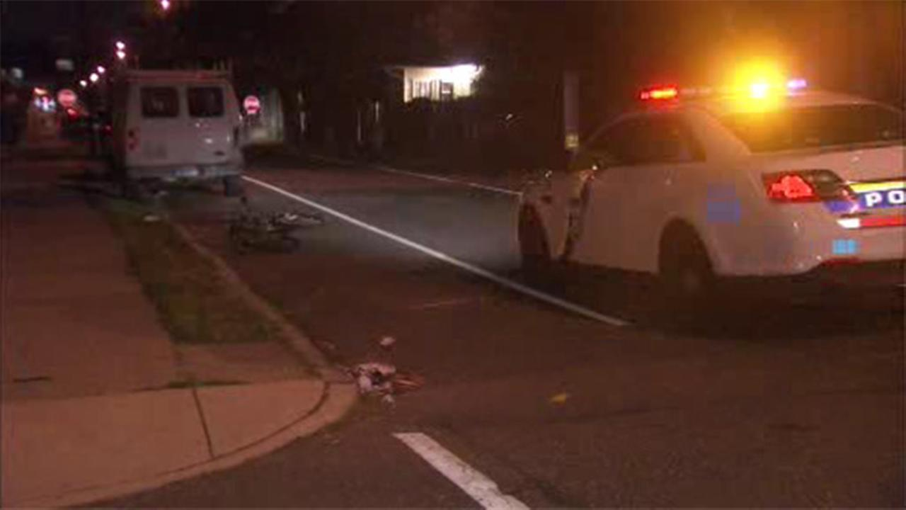 Girl struck in Frankford hit-and-run