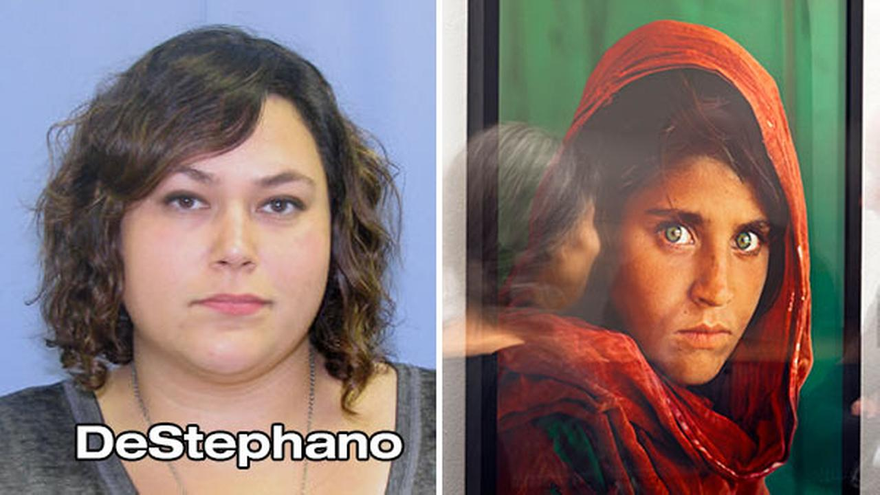 Bree DeStephano is accused of secretly selling prints belonging to her employer, photographer Steve McCurry. One of the prints includes the world famous Afghan Girl photograph.