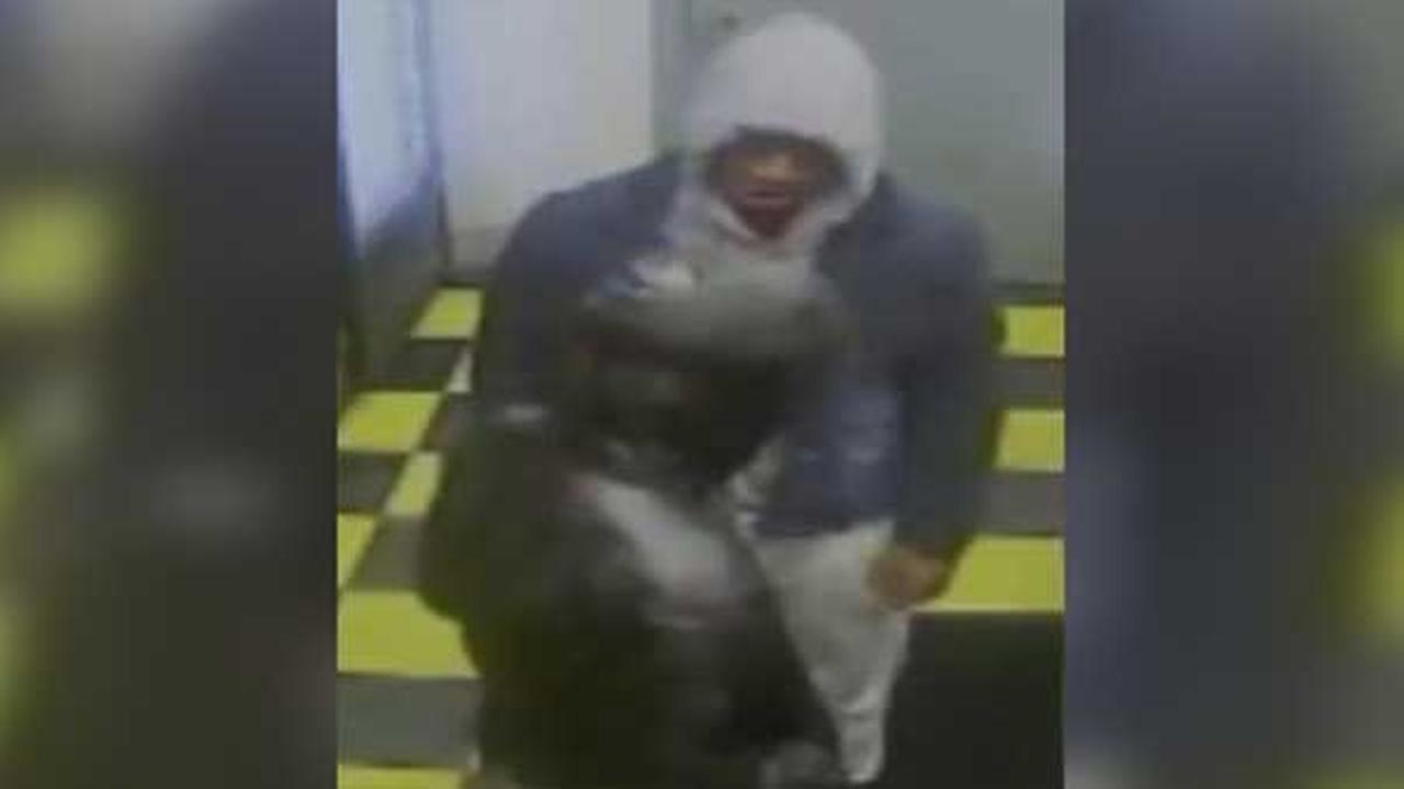 Philadelphia police are looking for a trio of suspects who robbed a pizza shop at gunpoint in the citys Cobbs Creek section.