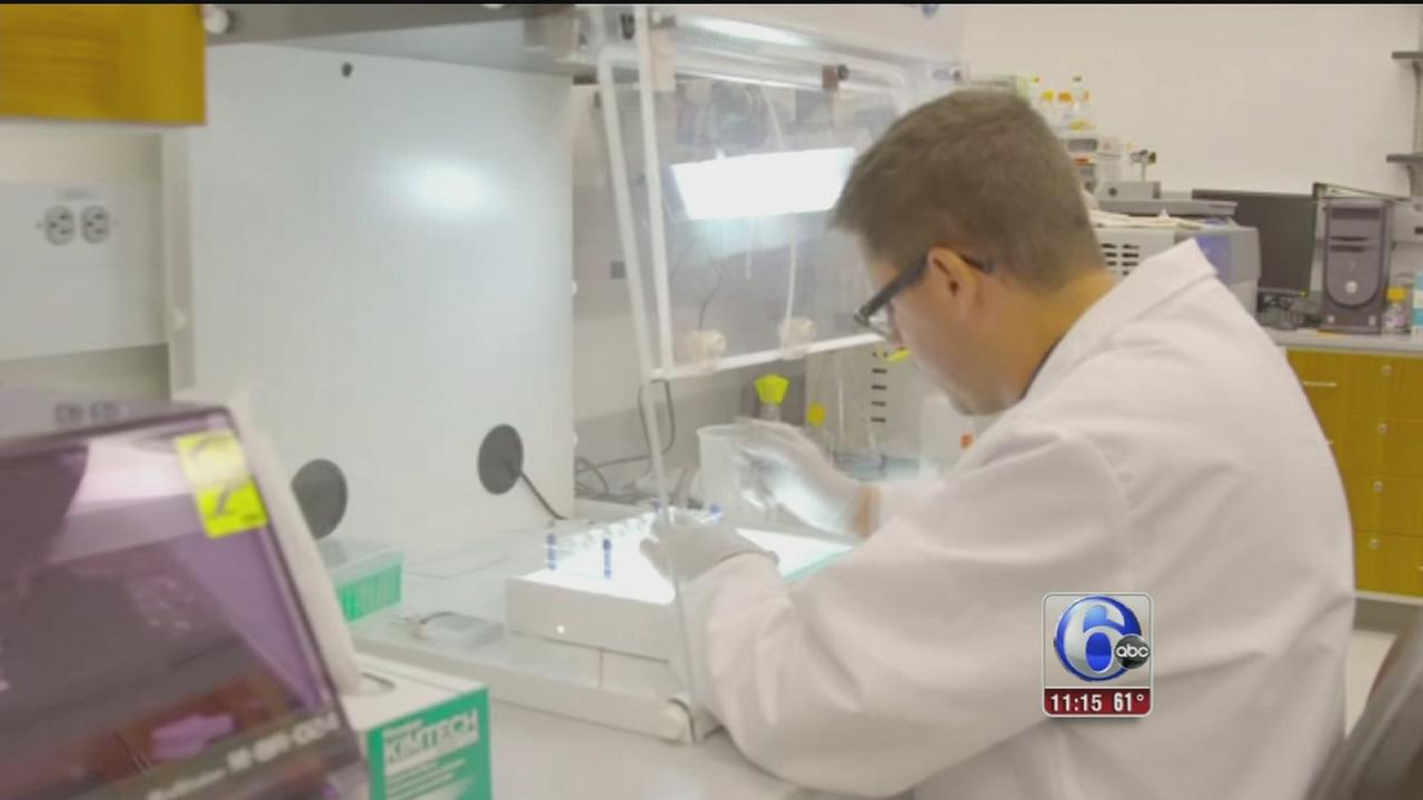 VIDEO: Phila. researchers testing drug that may one day cure AIDS