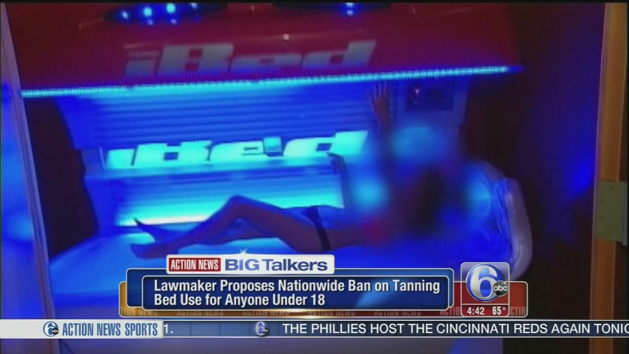 VIDEO: Tanning bed ban