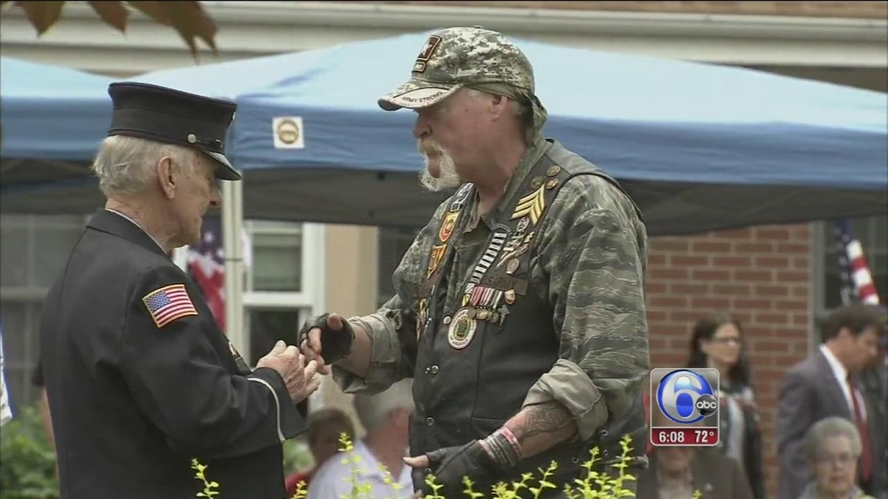 VIDEO: Tullytown pays tribute to Americas heroes
