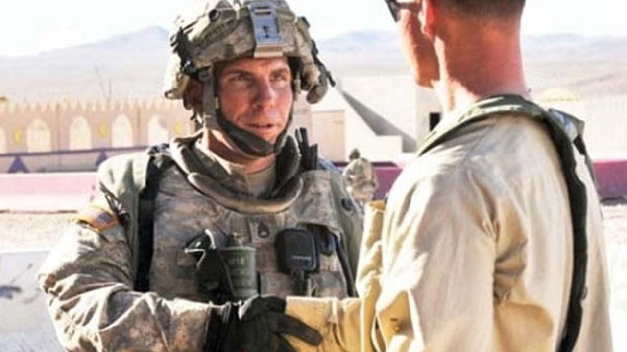 Army Staff Sgt. Robert Bales is seen in Afghanistan in this undated file photo.