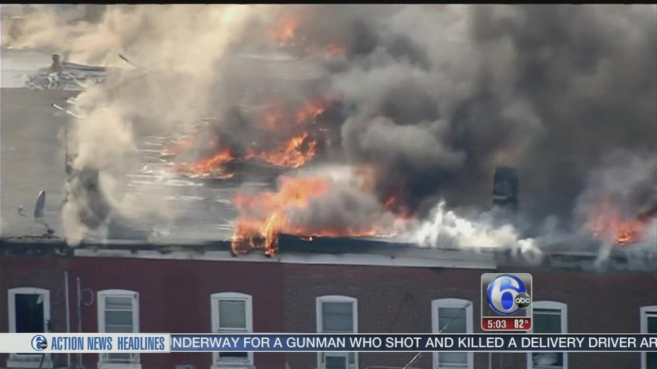VIDEO: Fire chief: Roofers torch sparked Hamilton Twp. blaze
