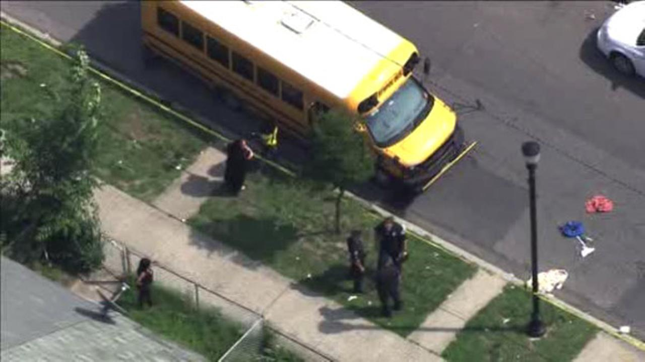 13-year-old hit by school bus in Camden