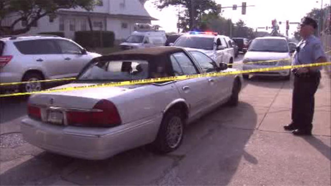 Double shooting leads to barricade in Frankford