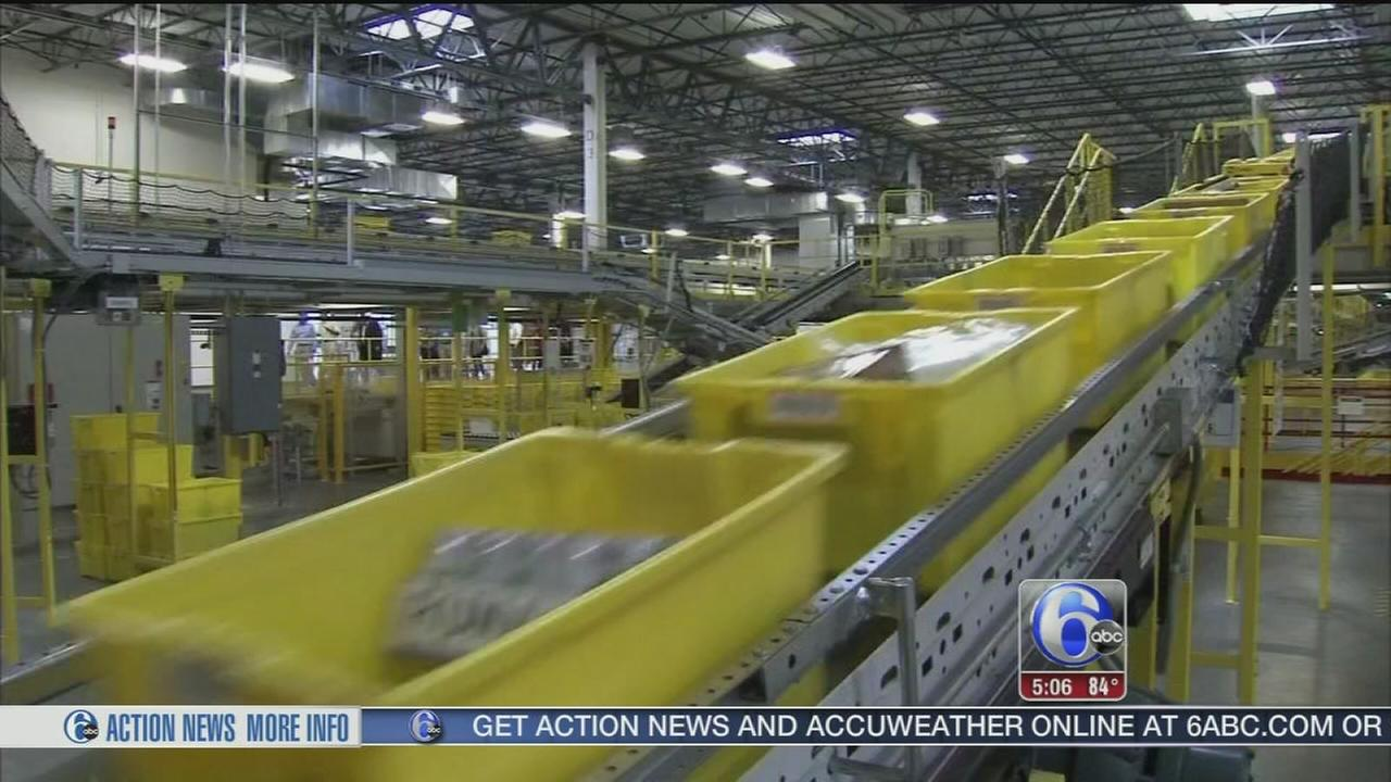 VIDEO: New Amazon fulfillment center opens in Mercer County