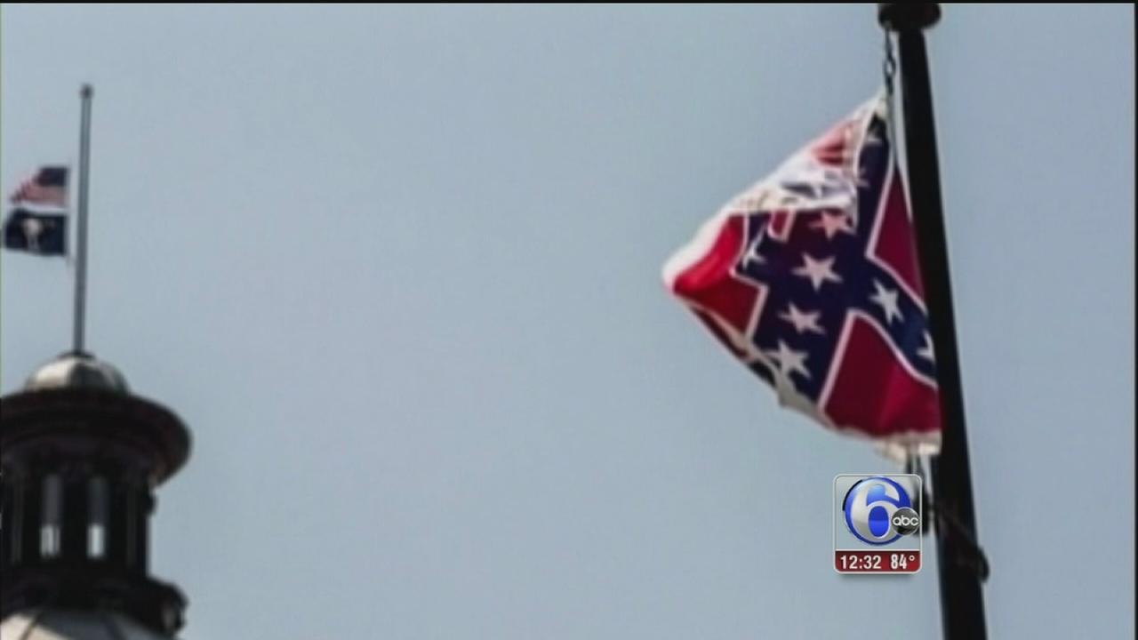 VIDEO: Charleston confederate flag