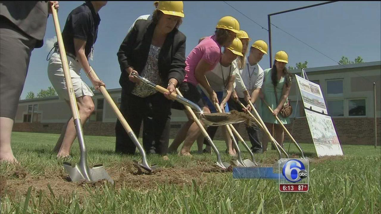 VIDEO: $40M renovation project begins at Plymouth Whitemarsh High School