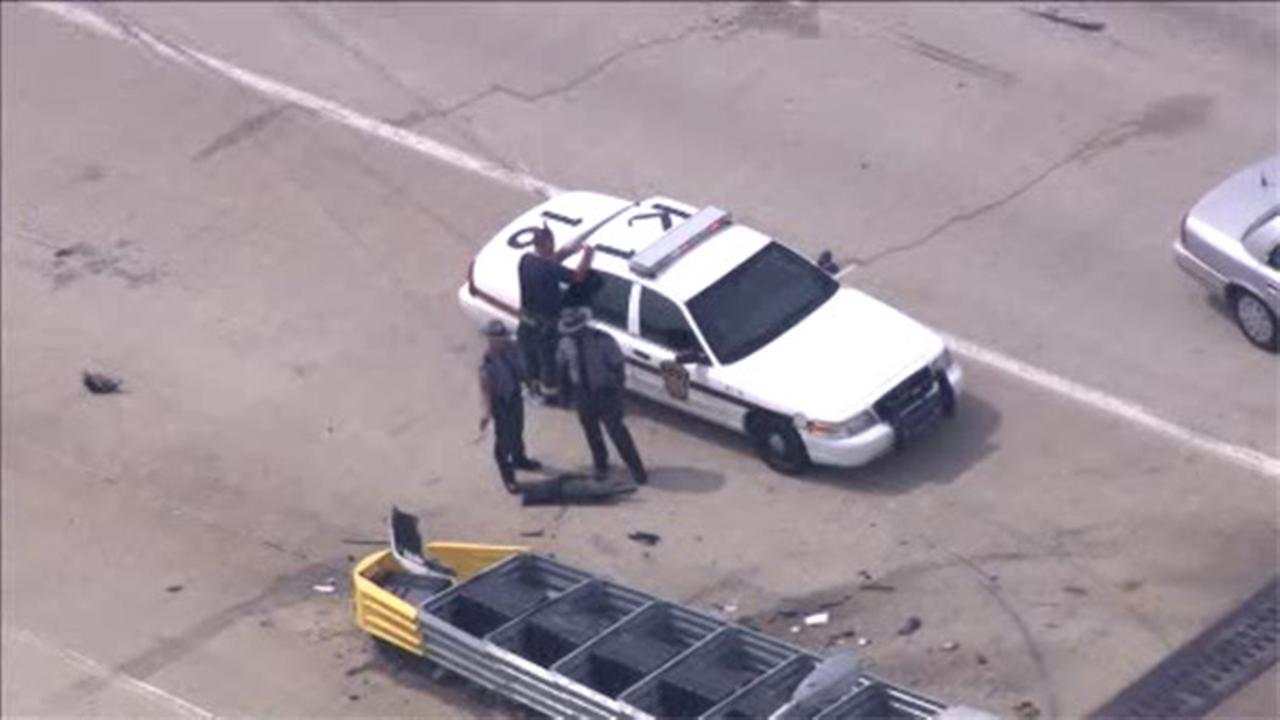 Pa. state trooper injured in crash on I-95 in Tinicum Twp.