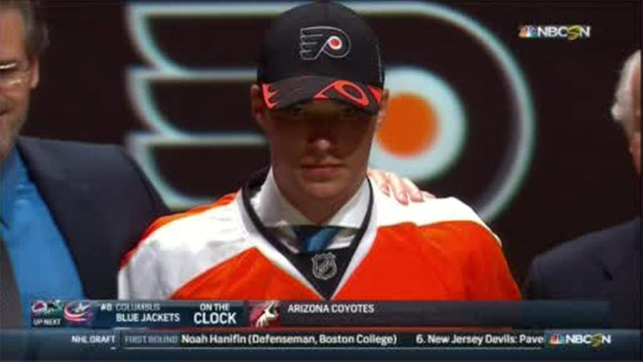 Flyers select Ivan Provorov at No. 7 in NHL Draft