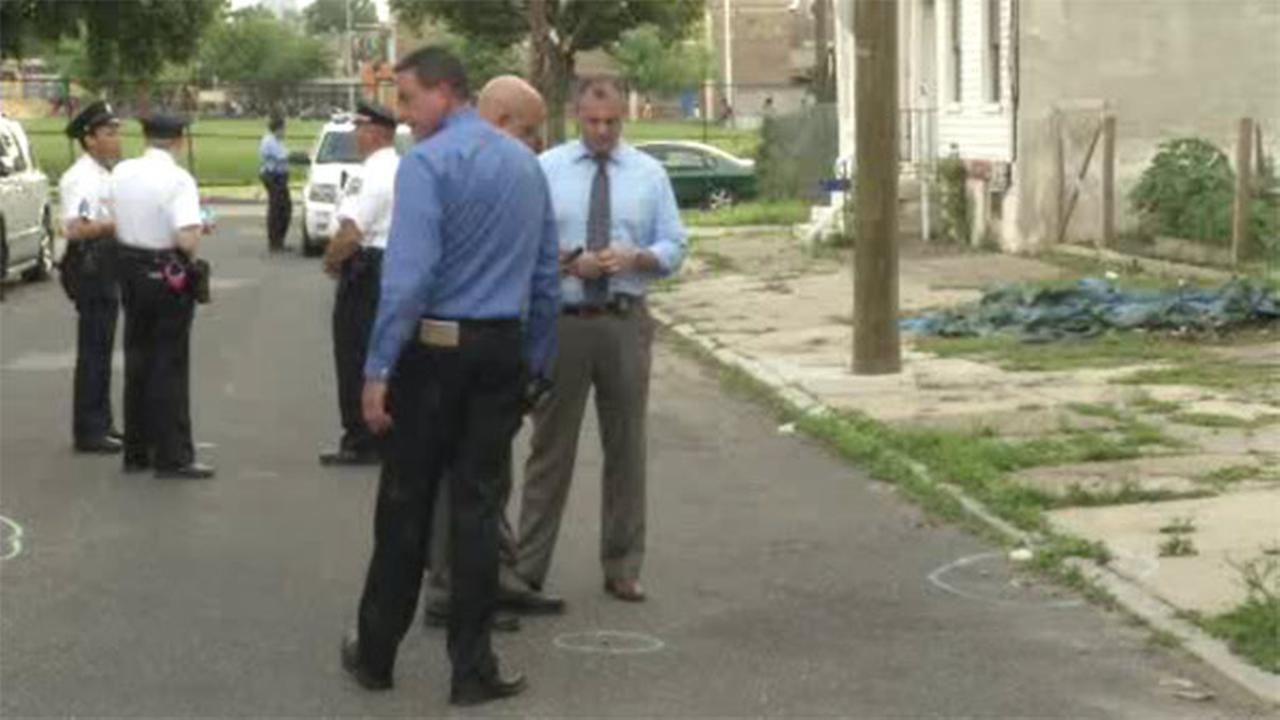 Man shot in the chest in North Philadelphia