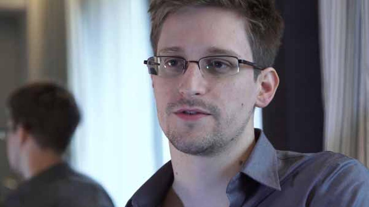 FILE- In this June 9, 2013 photo provided by The Guardian Newspaper in London, former NSA contractor Edward Snowden is shown.