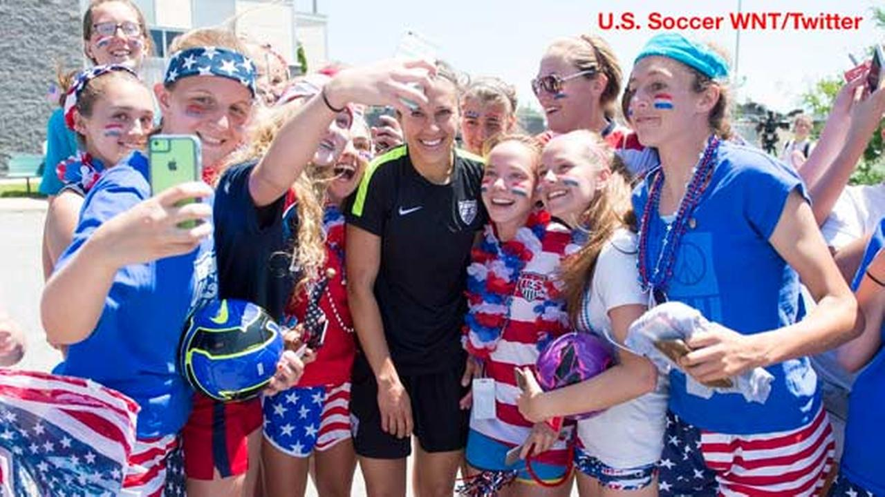 Photo courtesy of U.S. Soccer WNT / Twitter