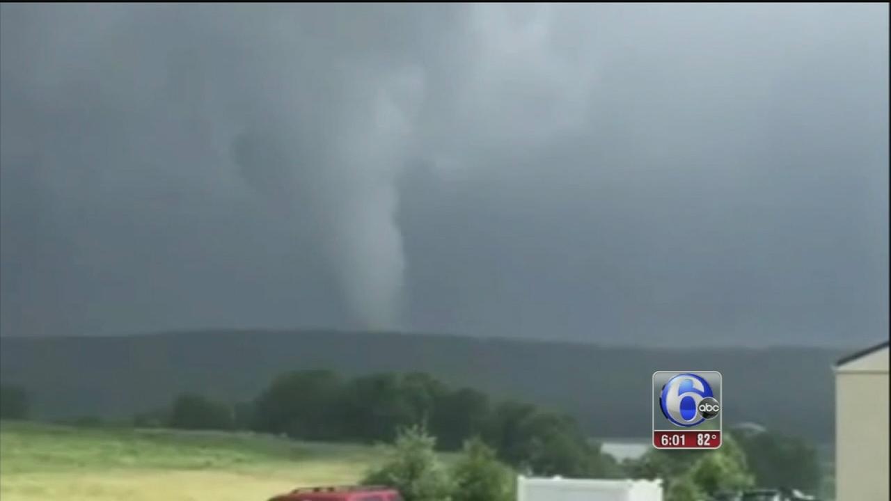 VIDEO: Tornado confirmed in Honeybrook