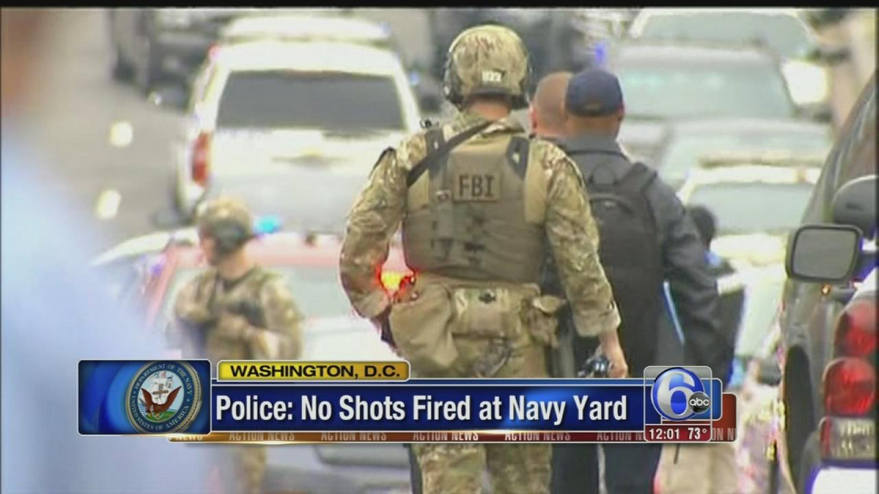 VIDEO: DC Navy Yard scare