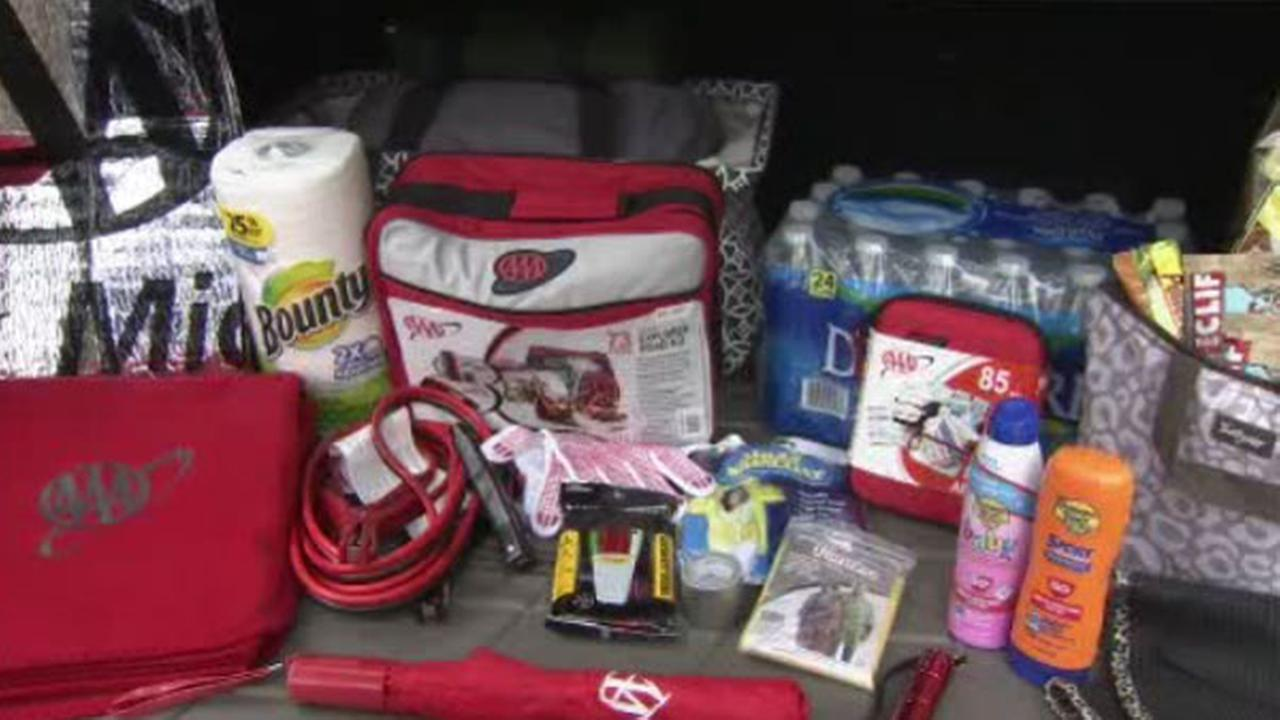 AAA reminds drivers to be prepared for summer weather