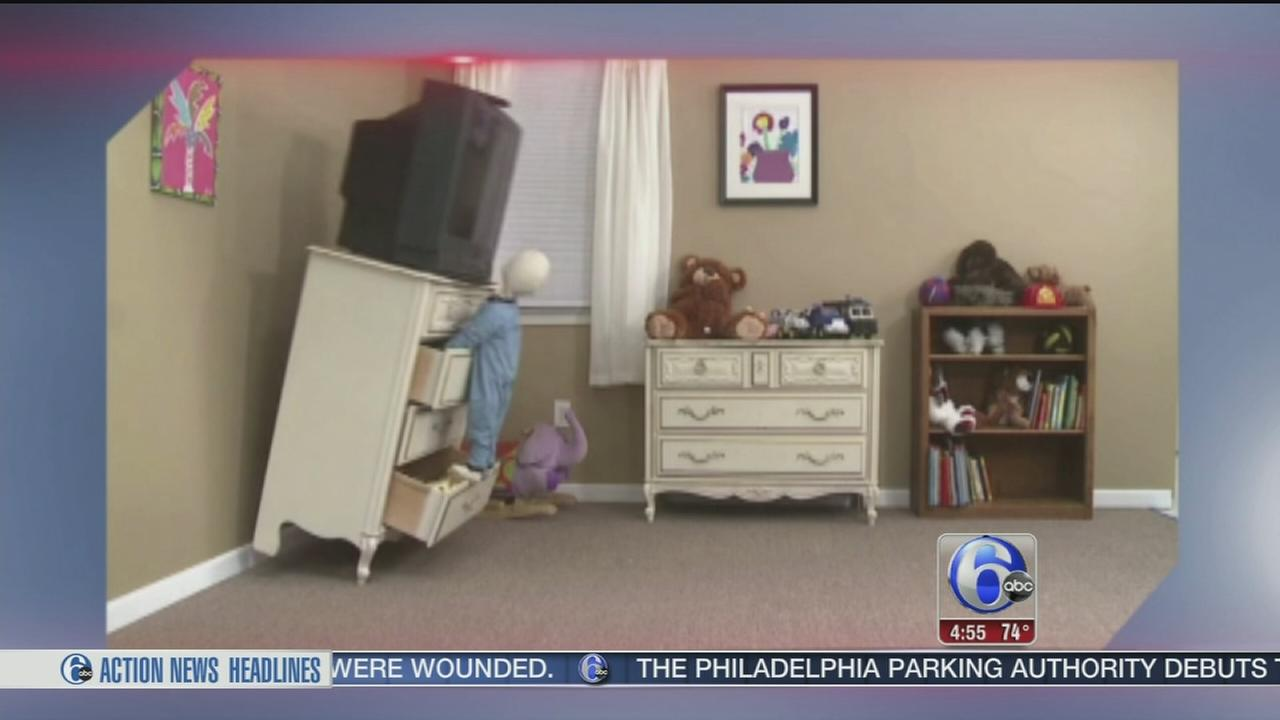 VIDEO: Preventing furniture tip over deaths and injuries