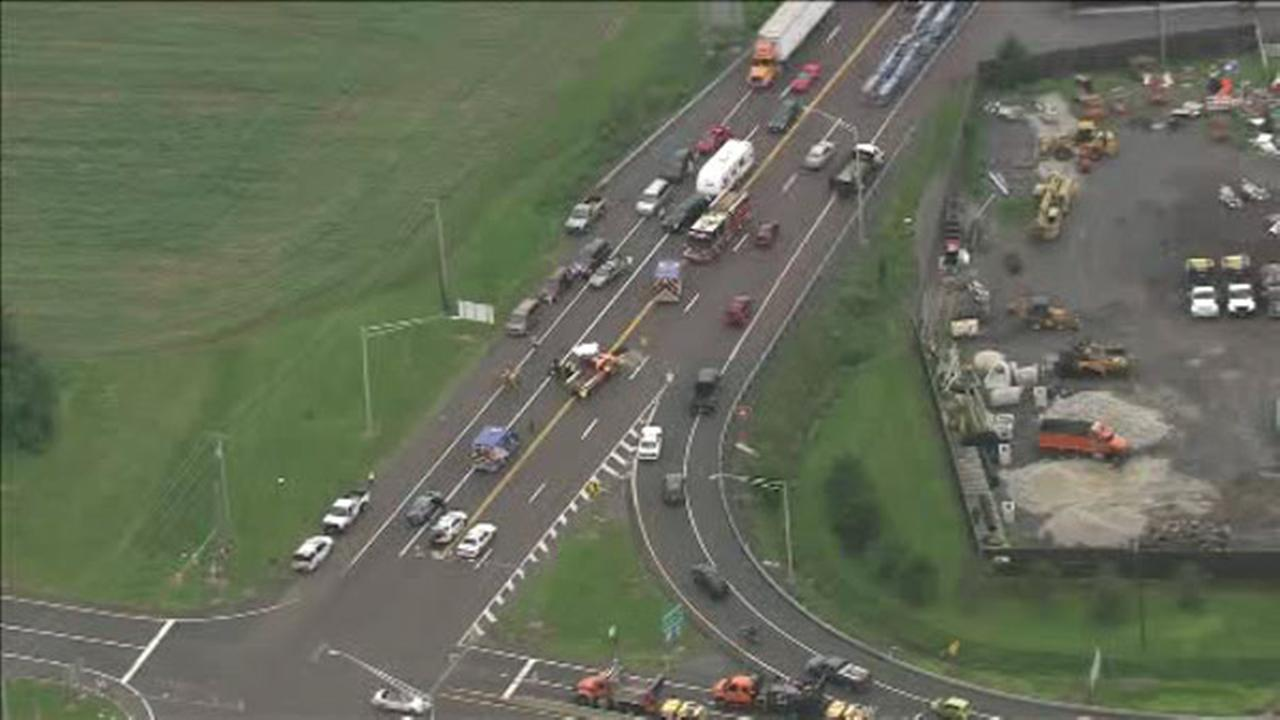 Pennsylvania State Police are investigating a deadly accident on the Pennsylvania Turnpike in Bucks County.