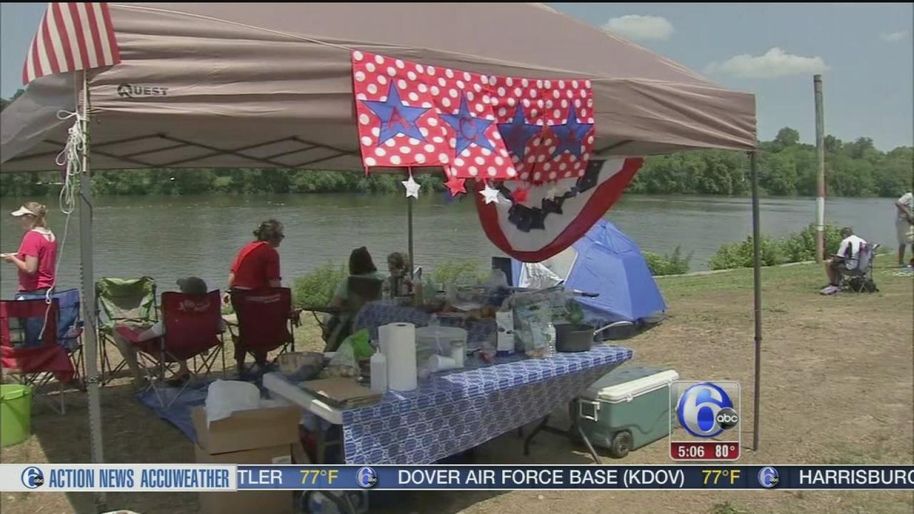 VIDEO: Celebrating the holiday weekend across the city