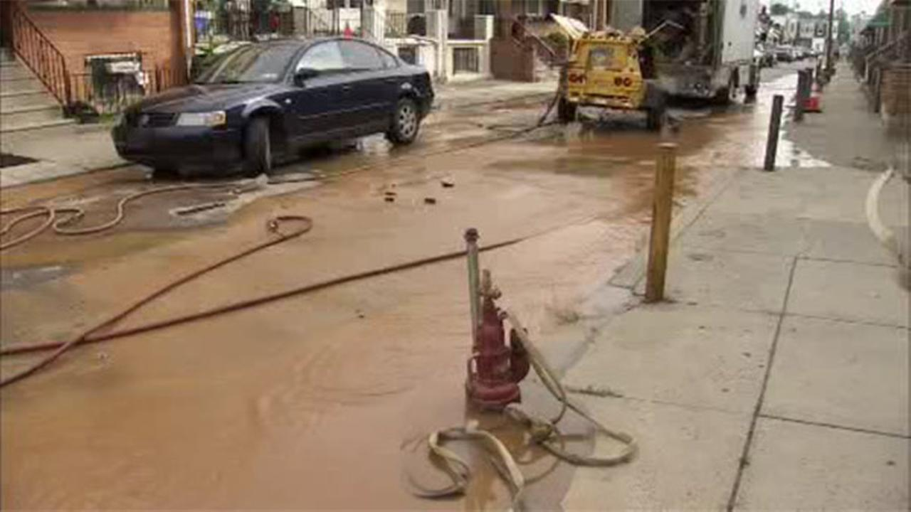 Dozens affected by Southwest Philadelphia water main break