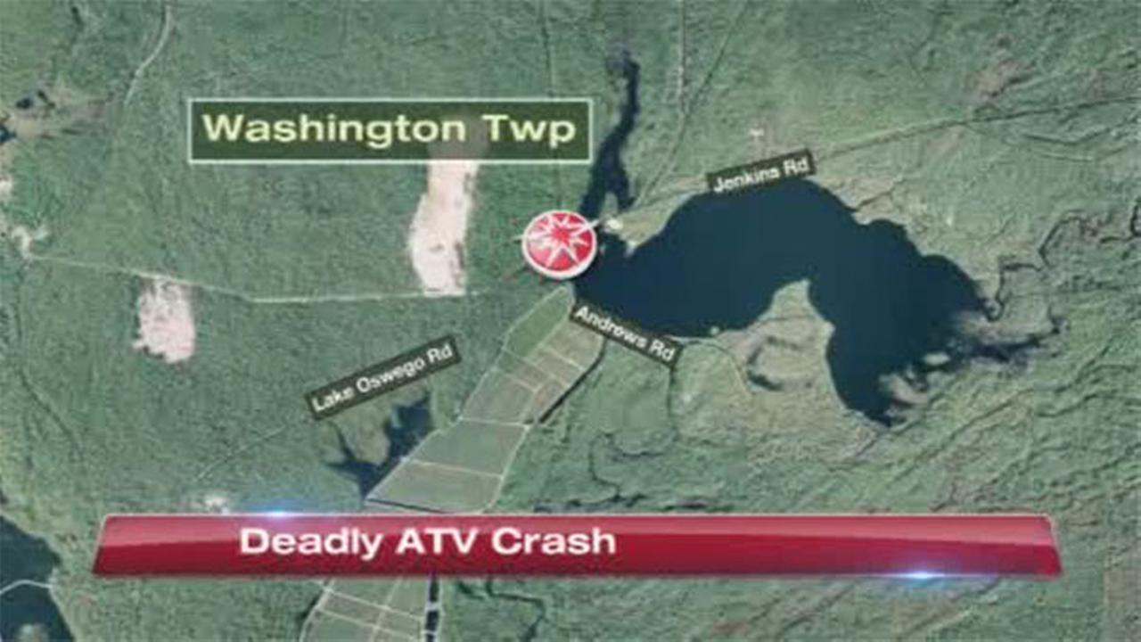 Teen girl killed, 2 injured in ATV crash in Washington Township