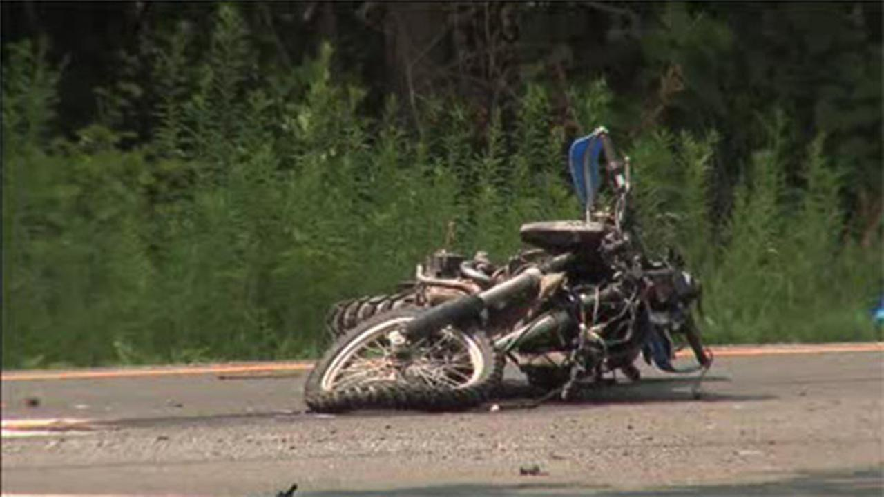 Motorcyclist killed in Bucks County accident