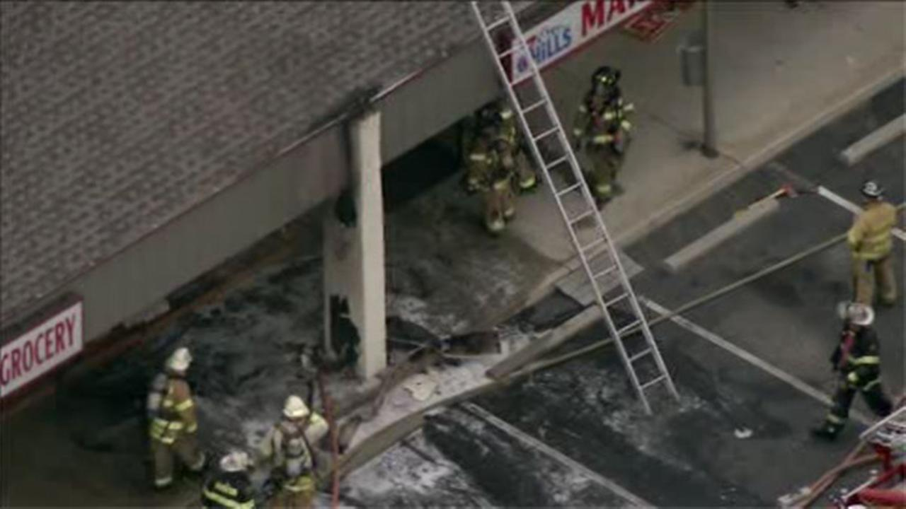 Multiple stores damaged in fire at Delran strip mall