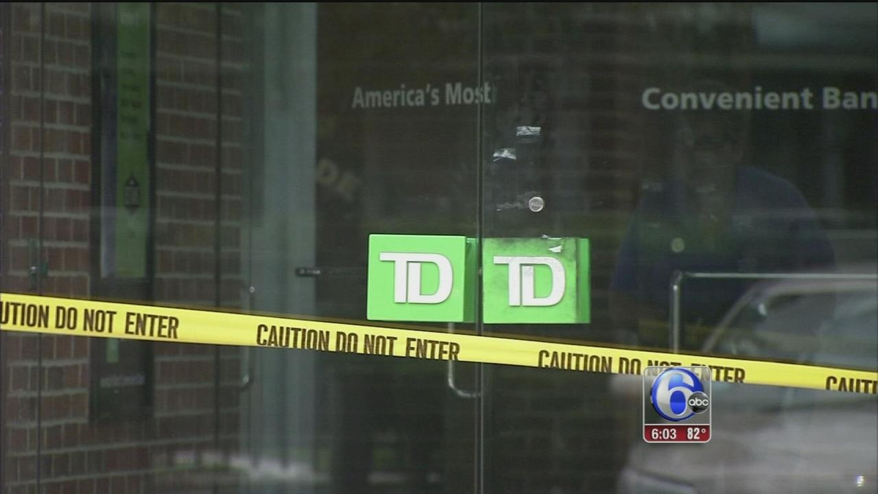 VIDEO: Hatboro official shoots suspected bank robber