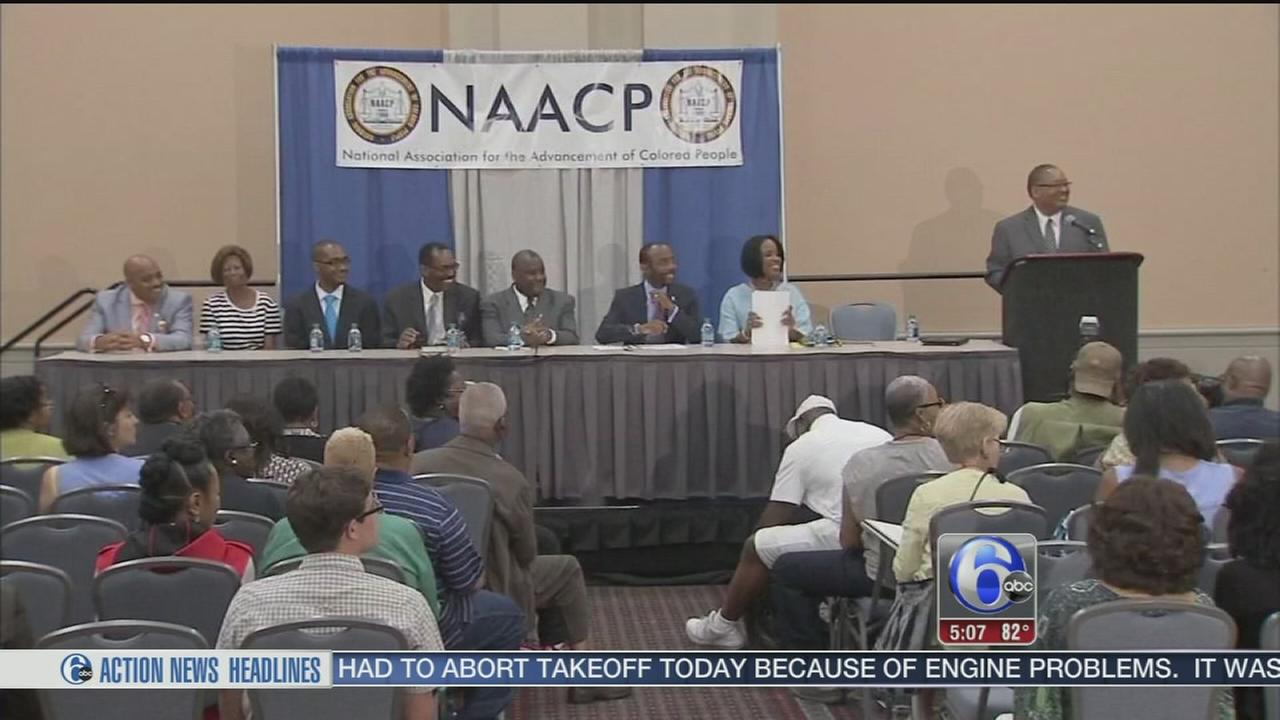 VIDEO: Confederate flag lowering top of mind at NAACP Convention