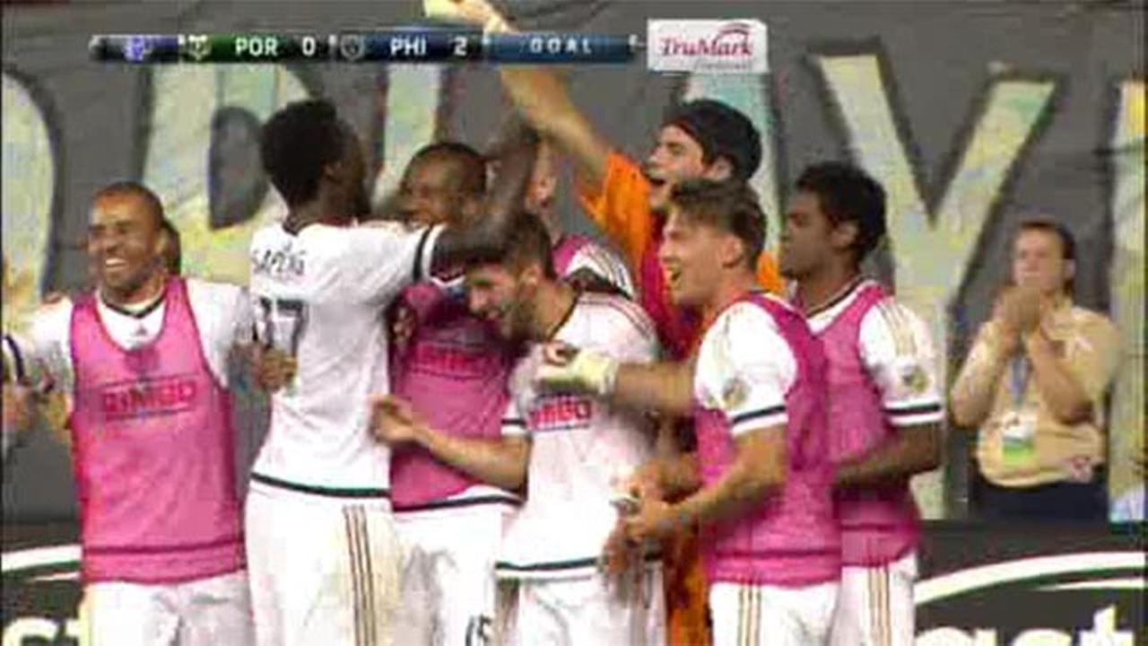Philadelphia Union tops Portland Timbers 3-0