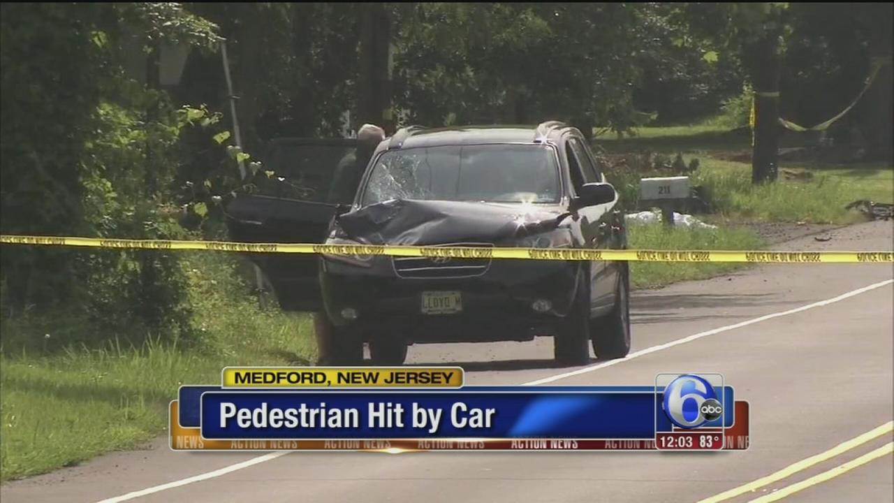 VIDEO: Pedestrian struck by car in Medford