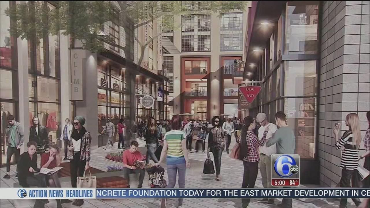 VIDEO: Concrete poured at $500 million East Market development