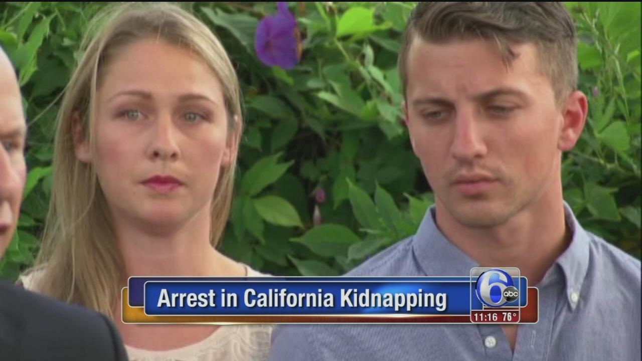 VIDEO: Arrest in California kidnapping