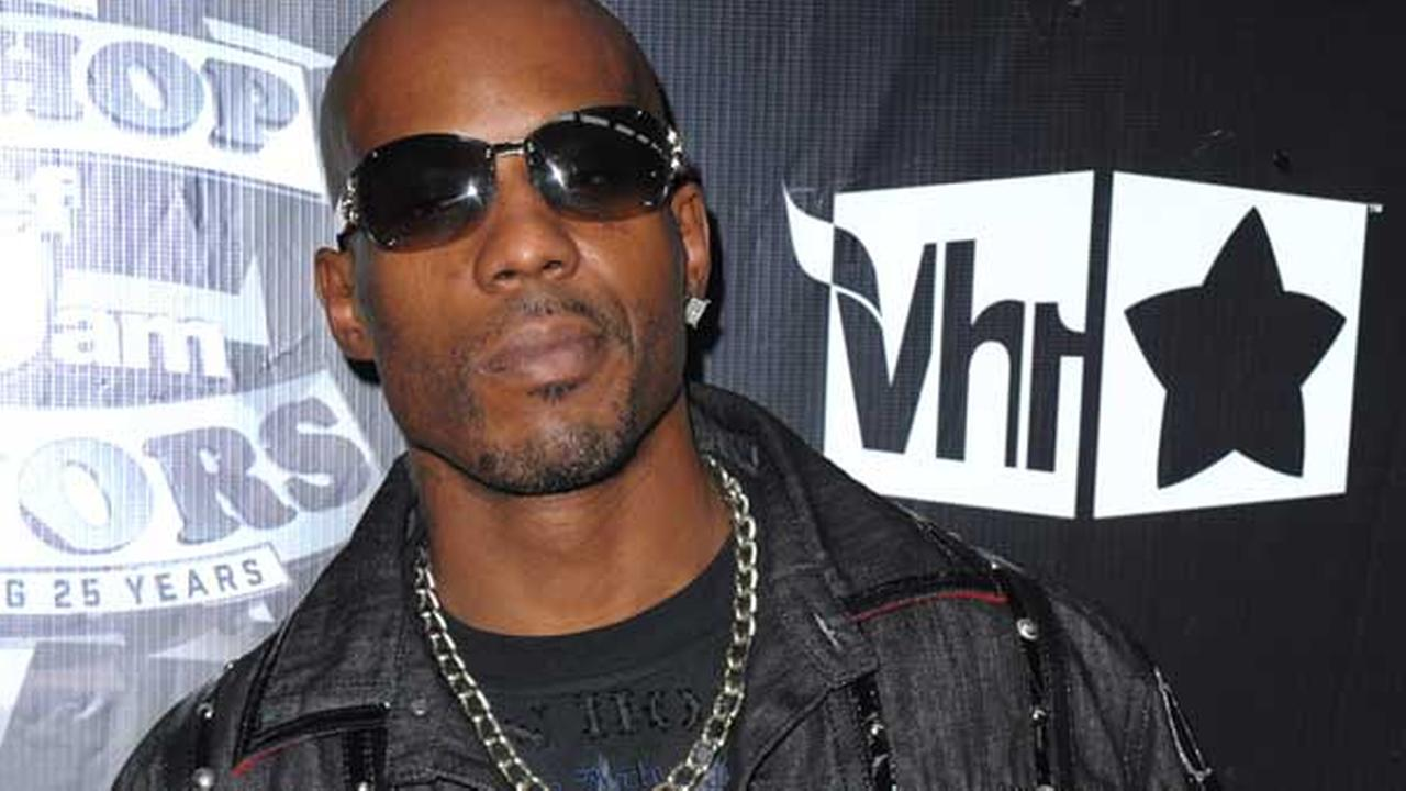 FILE - In this Sept. 23, 2009, file photo, DMX arrives at the 2009 VH1 Hip Hop Honors at the Brooklyn Academy of Music, in New York.