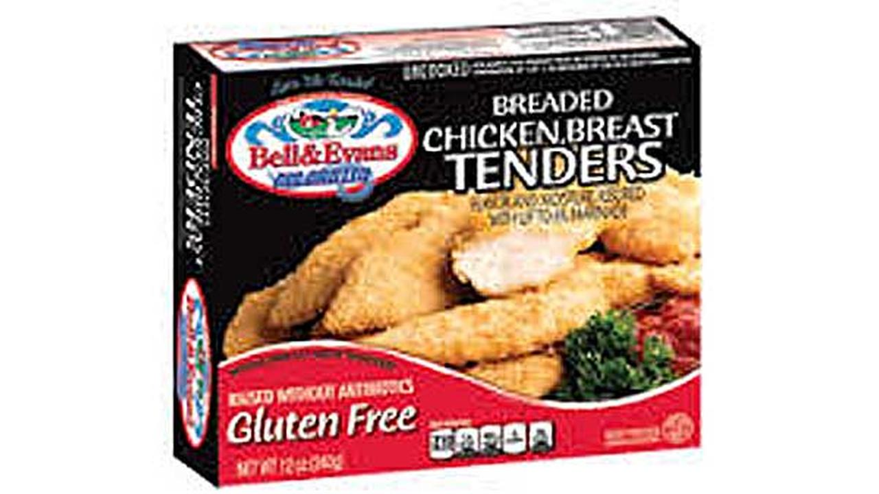 Bell & Evans gluten-free chicken nuggets recalled due to food poisoning risk