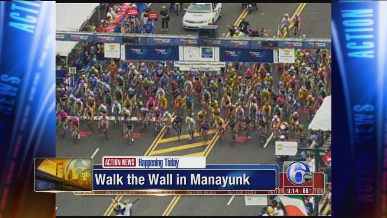VIDEO: Race weekend begins in Manayunk