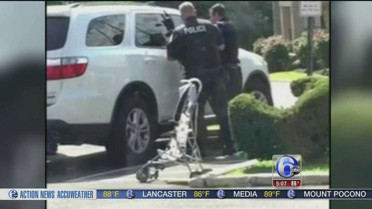 Upper Darby officers rescue kids locked in hot car