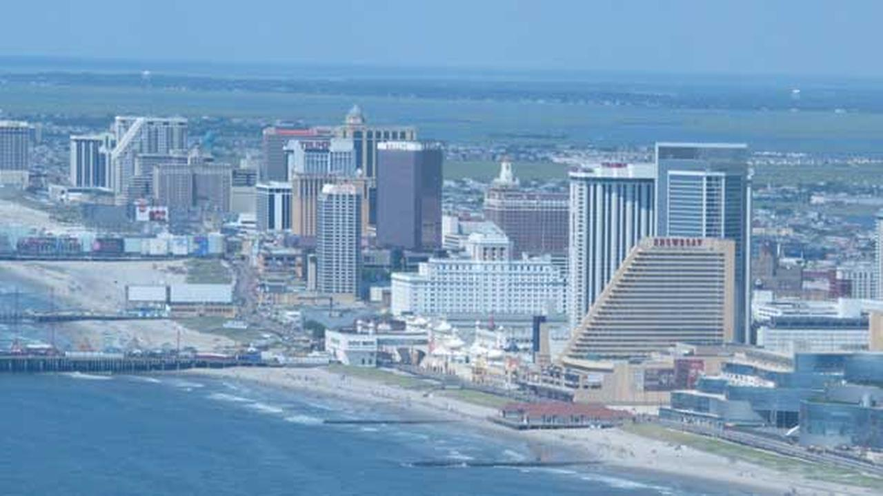 FILE - This July 11, 2014 photo shows many of the Atlantic City N.J. Boardwalk casinos.