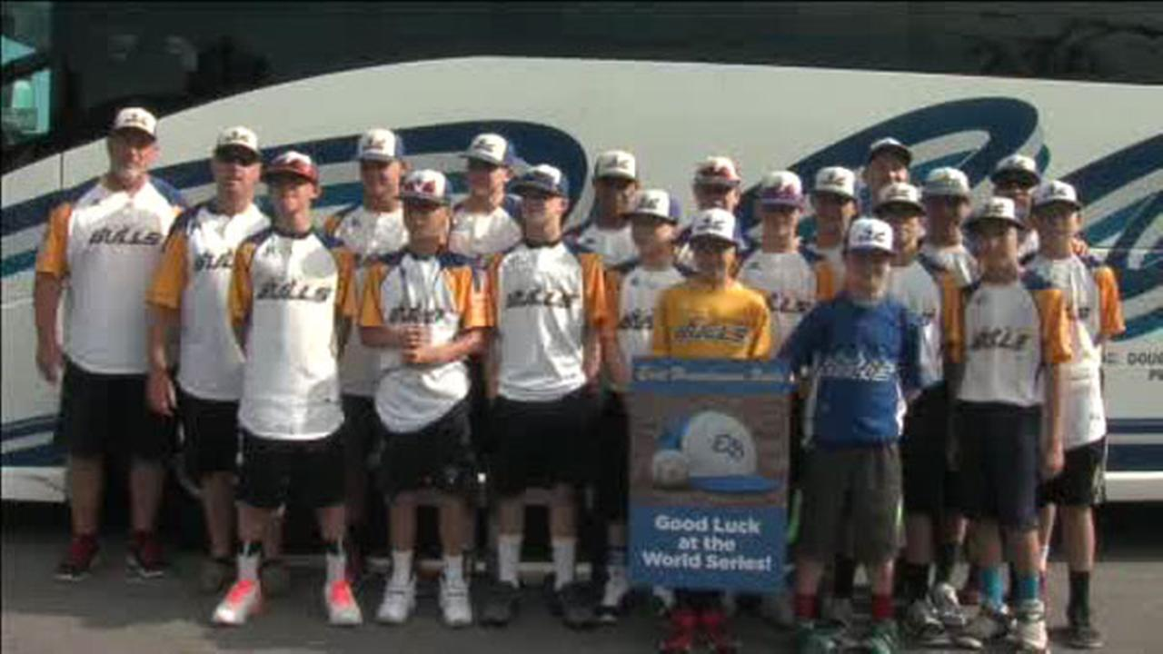 East Brandywine Bulls leave for Cal Ripken World Series